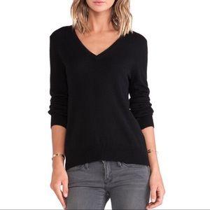 Zara Black knit  Long sleeve v-neck